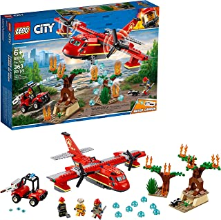 LEGO City Fire Plane 60217 Building Kit, 2019 (363 Pieces)