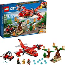 LEGO City Fire Plane 60217 Building Kit, 2019 (363 Pieces)