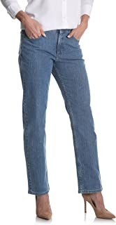 Riders by Lee Indigo Women's Relaxed Fit Straight Leg Jean Jeans