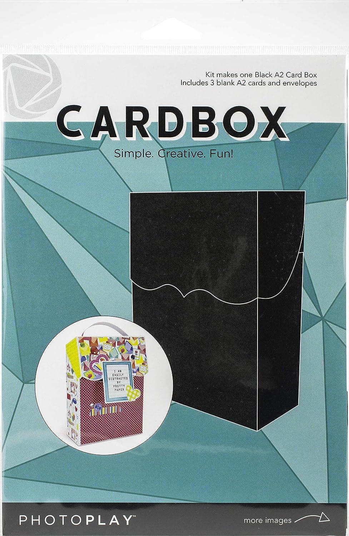 Topics on TV Photoplay Paper Finally popular brand A2 Cardbox W Envelopes-Black Cards 3