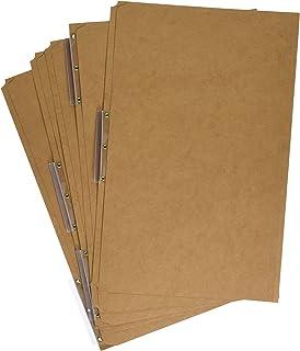 Pendaflex AC183-1/3 Pendaflex Kraft Angled Tab File Folders, 1/3 Cut, Top Tab, Legal, Brown, 50/Bx