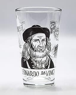 Cognitive Surplus Heroes of Science: Leonardo DaVinci Pint Glass