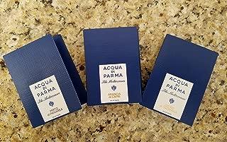 Acqua Di Parma Fragrance Blu Mediterraneo Sets: Mirto di Panarea, Arancia di Capri, and Cedro di Taormina
