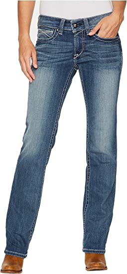 Ariat - R.E.A.L.™ Straight Icon Jeans in Rainstorm