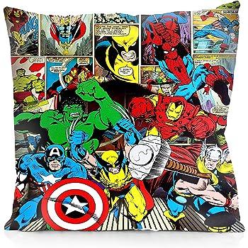 Spider Man VIPbuy Comic Superhero Cotton Linen Decorative Square Throw Pillow Case Sofa Waist Cushion Cover 18 x18 inches