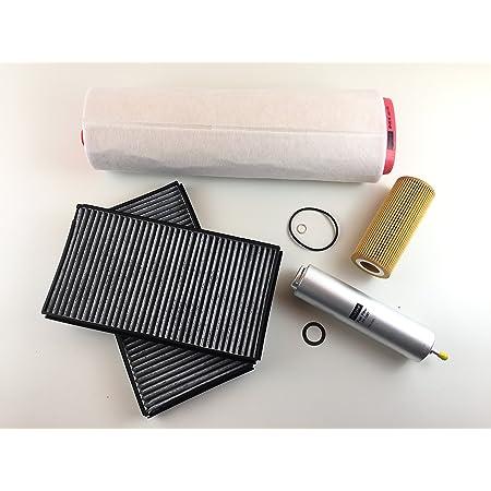 Ölfilter Luftfilter 2 X Aktivkohlefilter Kraftstofffilter Auto