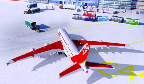 『Snow Cargo Jet Landing 3D』の4枚目の画像