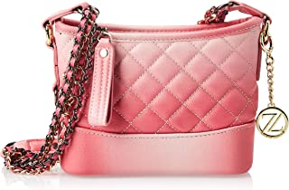 Zeneve London Crossbody Bag For Women, Pink, 119131500034