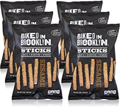 product image for Baked in Brooklyn Sticks 0g Trans Fat No Cholesterol No Nonsense Certified Kosher - Sesame 8 oz 6 pack