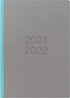 Letts Two Tone A5 academic 21.22 week to view diary - grey