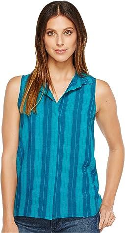 Linen Yarn-Dye Top