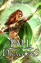 Fall of Dragons: a dragon fantasy reverse harem romance (Dragon Dojo Brotherhood Book 5)
