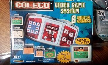 Coleco Plug-n-play Tv Video Game System Soccer, Hockey, Football, Racqetball, Basketball & Baseball