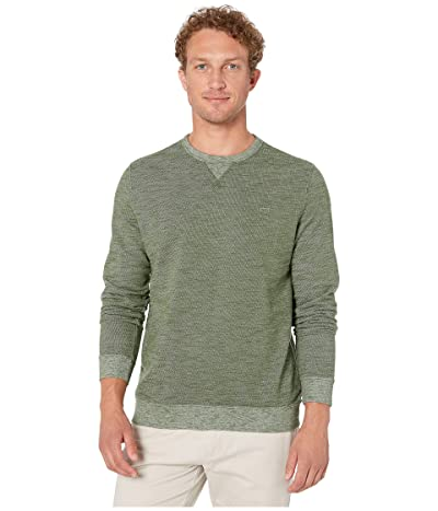 Southern Tide Upper Deck Twill Crew Sweater (Forest) Men