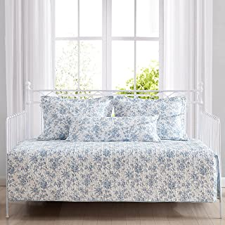Laura Ashley Home | Walled Garden Collection | Daybed Set - Lightweight & Cozy, Reversible, All Season Bedding with Matchi...