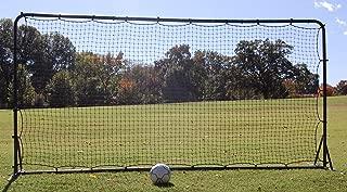 Soccer Rebounder Training Net, 6 x 12-Feet, Black