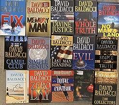 David Baldacci Suspense Hardcover Novel Collection 15 Book Set