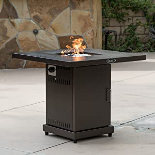 gas fire pit black friday