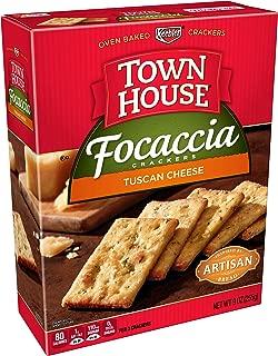 focaccia crackers