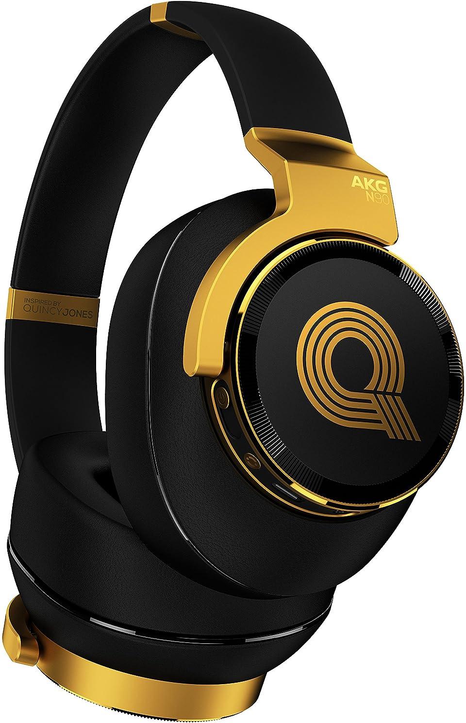AKG sealed over-ear headphones N90Q (Black / Gold)(Japan domestic regular goods)