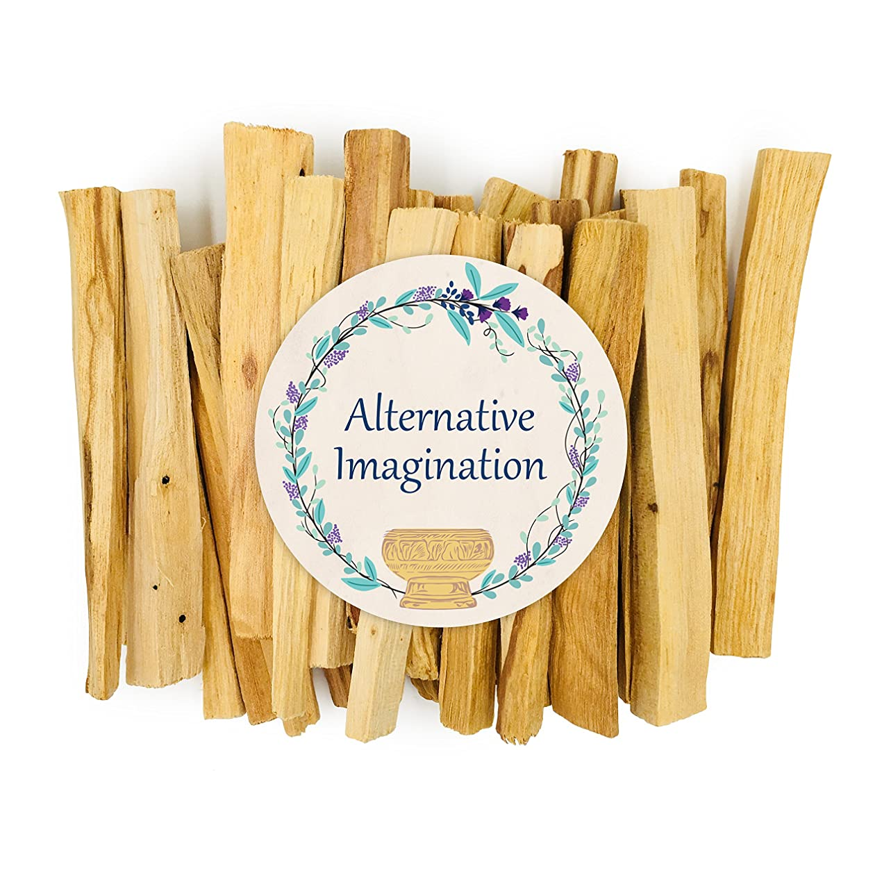 明確に実験室下手プレミアムPalo Santo Holy Wood Incense Sticks 4オンス、100?%自然と持続可能な、野生の収穫。