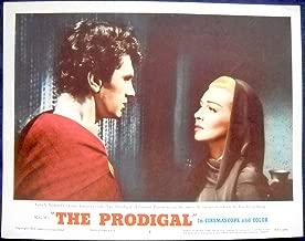 THE PRODIGAL MOVIE POSTER-Edmund Purdom and Lana Turner, l/c #6-1955