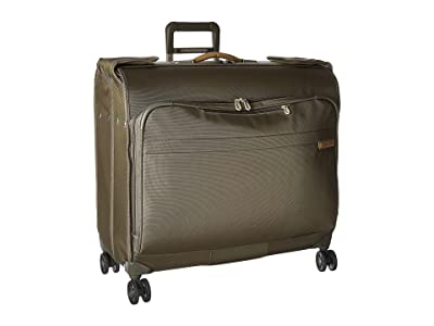 Briggs & Riley Baseline Wardrobe Spinner (Olive Green) Suiter Luggage