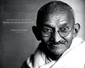 Mahatma Gandhi Photo Picture Poster Framed Quote