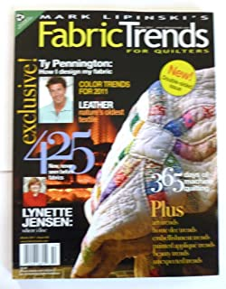Mark Lipinski's Fabric Trends for Quilters/The Fabric Gallery Winter 2011