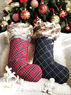 Best red and black plaid stockings Reviews