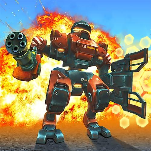 Tanks VS Robots: Multiplayer Panzer und Mech Spiele Kostenlos