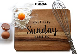 Tagliere in legno design - mod. 'Sunday Morning'