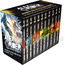 Alex Rider 11 Books Collection set by Anthony Horowitz- Scorpia Rising,Crocodile Tears,Snakehead,Ark Angel,Scorpia,Eagle S...