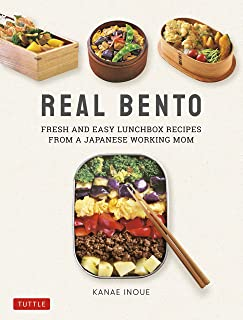 Real Bento: Fresh and Easy Lunchbox Recipes from a Japanese Working Mom (English Edition)