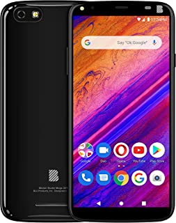 "BLU Studio Mega 2019-6.0"" Display Smartphone, 32GB+2GB Ram- International Unlocked- Black"