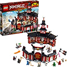 LEGO NINJAGO Legacy Monastery of Spinjitzu 70670 Battle Toy Building Kit includes Ninja Toy Weapons and Training Equipment...