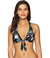 Kate Spade New York - Playa Carmen Reversible Halter Bikini Top