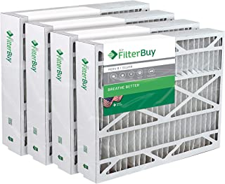 21x27x5 Trane Perfect Fit BAYFTFR21M Aftermarket Furnace Filter/Air Filter - AFB Silver (Merv 8). (4 Pack)