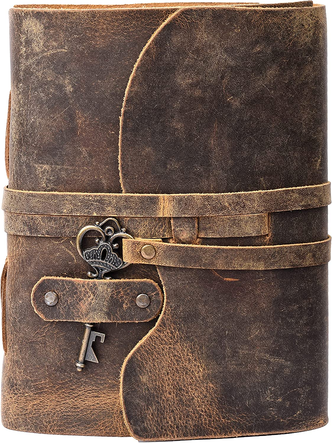 Leather Ranking TOP1 Journal - Vintage Be super welcome bound Women â Men For