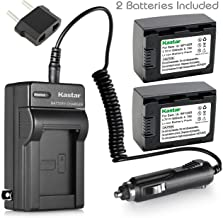 Kastar Battery (2-Pack) and Charger Kit for IA-BP105R and Samsung HMX-F80 HMX-F90 HMX-F800 HMX-F900 SMX-F50 SMX-F53 SMX-F54 SMX-F500 SMX-F501 SMX-F530 SMX-F70 SMX-F700 HMX-H300 H303 H304 H305 HMX-H320