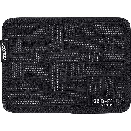 Cocoon Grid-IT XS - Organiseur pratique pour porte-documents, sac à main, valise / système d'organisation avec boucle & tapis de souris / noir