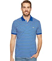 Lacoste - Short Sleeve Stripe Pima Jersey Interlock Regular
