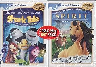 Shark Tale (Widescreen) DVD / Spirit Stallion of Cimarron (Widescreen) DVD