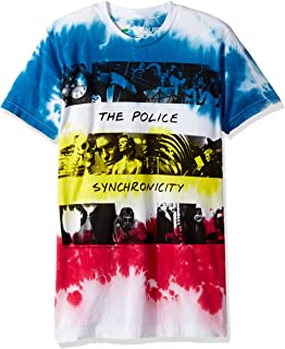 The Police Sychronicity Tie Dye Short Sleeve T-Shirt