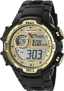 Men's 40/8347COR Digital Chronograph Camouflage Resin Strap Watch