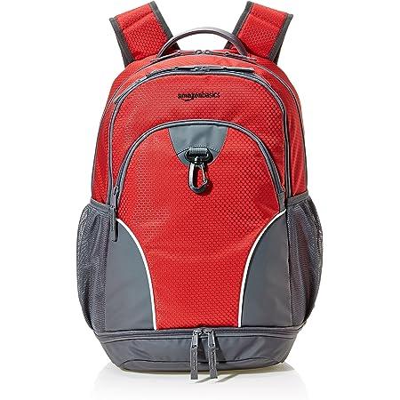 Amazon Basics Sports Backpack, Red