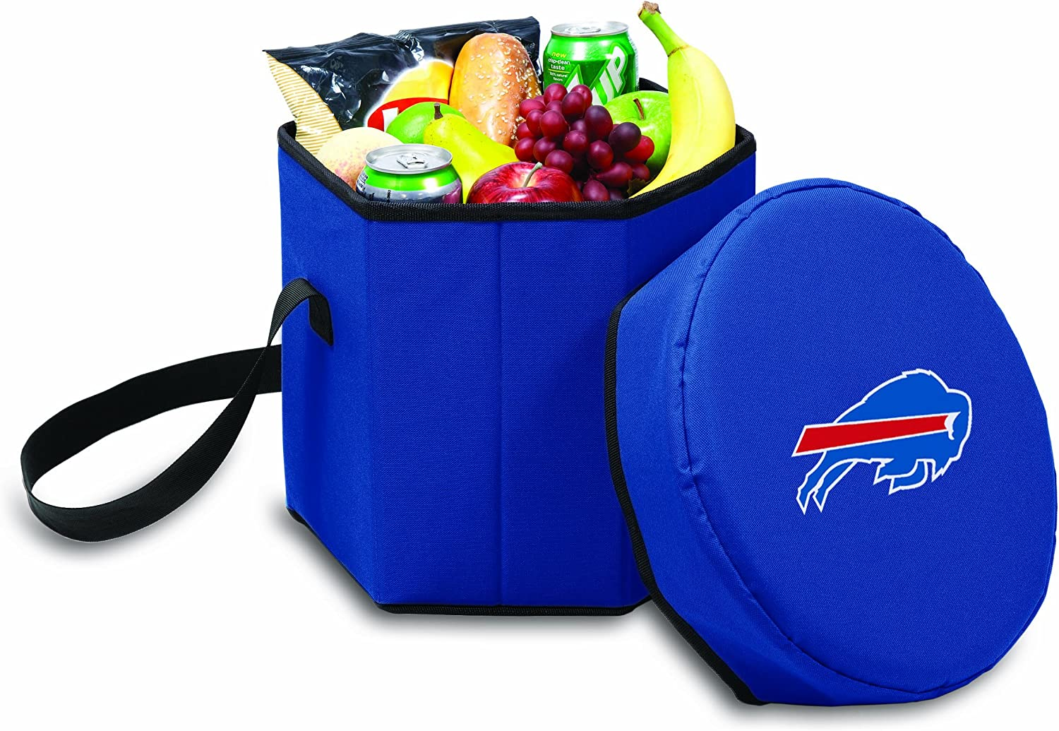 Bombing new work NFL Buffalo Bills Bongo Navy Collapsible Insulated Cooler OFFer