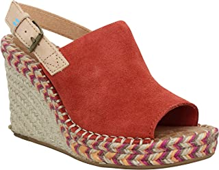 TOMS Women's Monica Spice Suede/Leather 9.5 B US