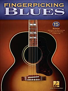 Fingerpicking Blues (Songbook): 15 Songs Arranged for Solo Guitar in Standard Notation & Tab (English Edition)