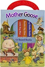 Mother Goose Deluxe My First Library 12 Board Book Block - PI Kids
